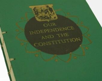 1950 INDEPENDENCE Vintage Book Journal