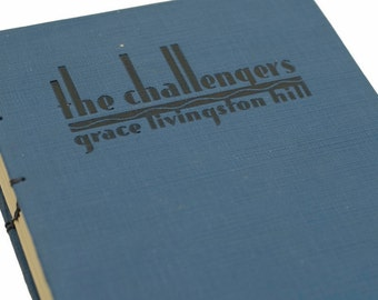 1932 The CHALLENGERS Vintage Book Journal/Notebook