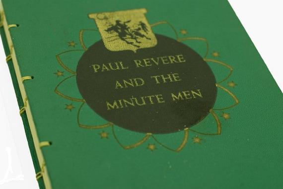 1950 PAUL REVERE Vintage Book Journal Notebook