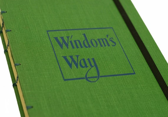 1952 WINDOM'S WAY Vintage Notebook Journal with Strap