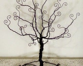 Wire tree stand, jewelry holder, sculpture