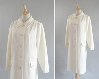 Vintage 1960s 4 Button Poly Spring Jacket