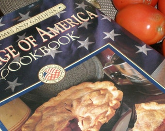 "Cook Book Super-Sized- ""Americana-Heritage of America"" - A Better Homes and Gardens Book- Large Sized Book"