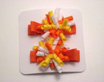Candy Corn Itty Bitty Korker Set