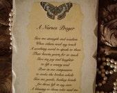 A Nurses Prayer Plaque, nurses gift, Nurse graduation