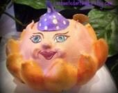 Sunny the Flower Fairy Gourd Art