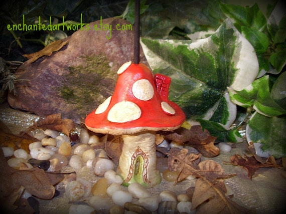 Fairy House Red Cap Magic Mushroom Incense By