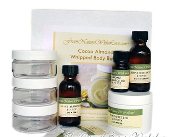 Cocoa Almond Whipped Body Butter Craft Kit