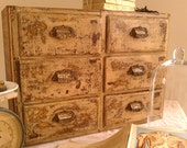 VinTage ApoThecarY PoSt OfFice  CupbOard
