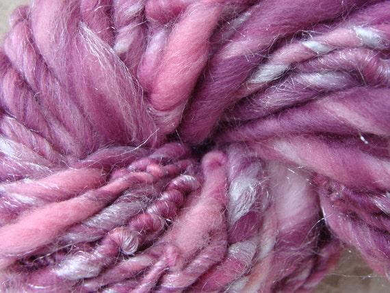 Sugar Plum Handspun Art Yarn 54 yards Chunky