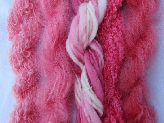 Assorted Mohair Boucle Mini skeins Yarn No.10