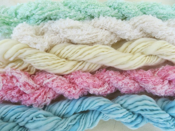 Assorted Mohair Boucle Mini skeins Yarn No. 31