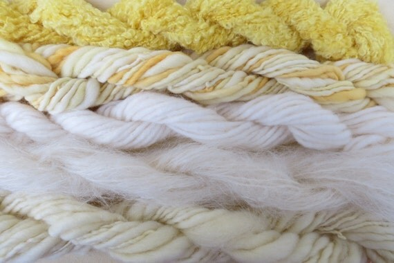 Assorted Mohair Boucle Mini skeins Yarn No.3