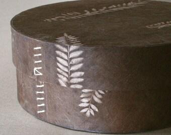 Rustic Round Box