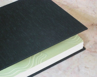 Journal Sketchbook - Deep Green Cloth