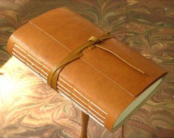 Leather Journal Tan Kidskin