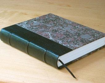 Leather Journal Sketchbook - Black