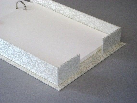 Photo Album Box - White