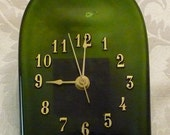 Wine N' Time, Recycled Wine Bottle Clock