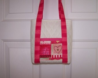 Pink Love Tote