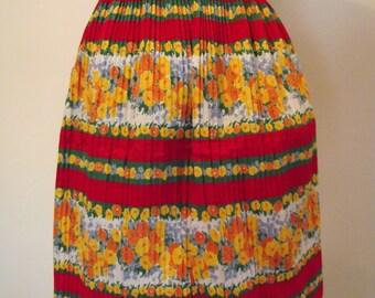 Ladies Apron Vintage Cute Colorful