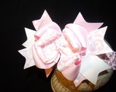 Sassy Hairbows.. Triple Layered Boutique Bow and Interchangeable Headband..Great for Newborn Toddler big Girl wear