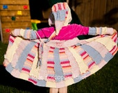 20% Off Sale Code Xmas2012 Sweater Coat Recycled Girls Pixie Sweater Size 5-6