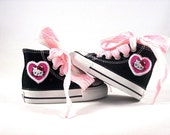 Infant and Kids Custom Chuck Taylor Kitty High Top Converse Shoes
