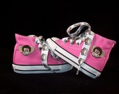 Infant and Kids Custom Chuck Taylor Monkey High Top Converse Shoes
