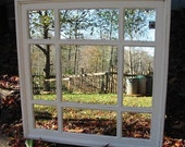 square mirror  french country    34  x 34 light  cream  distressed