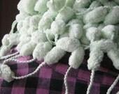Fluffy Light-green Neckwarmer No 3