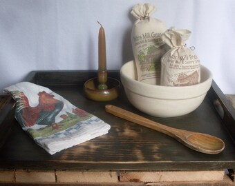 PRIMITIVE Candle Tray Noodle Board SINK COVER Carry All