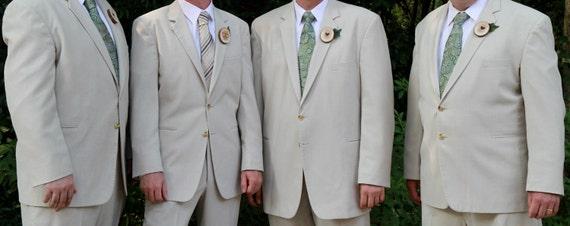 Rustic Fairytale Wedding Boutonnieres