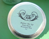 All Natural Shea Body Butter 2oz , Coconut Lemongrass Preservative Free