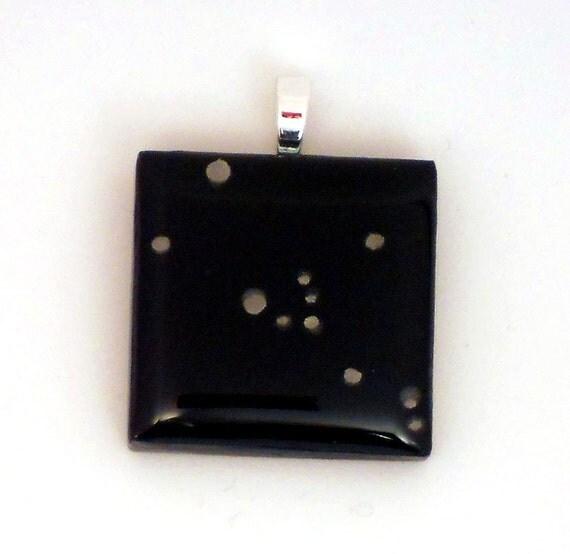 Taurus Constellation tile pendant