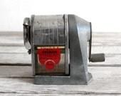 vintage apsco premier pencil sharpener