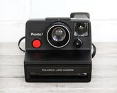 vintage polaroid sx-70 pronto camera - works