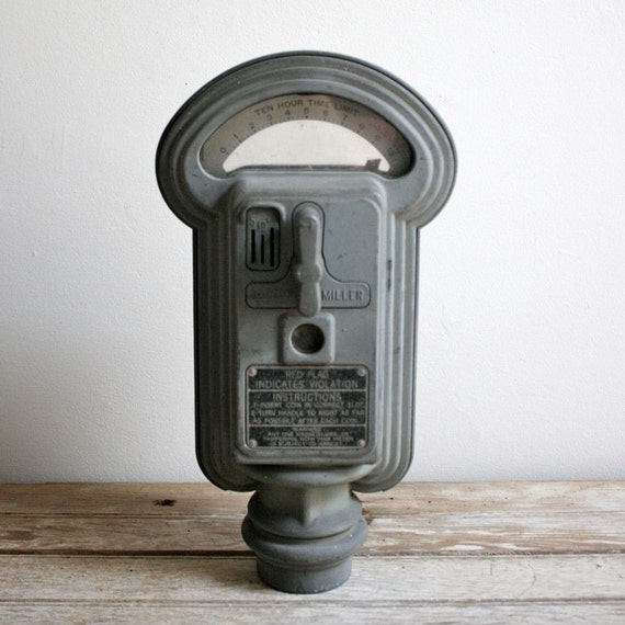 sale vintage duncan miller parking meter