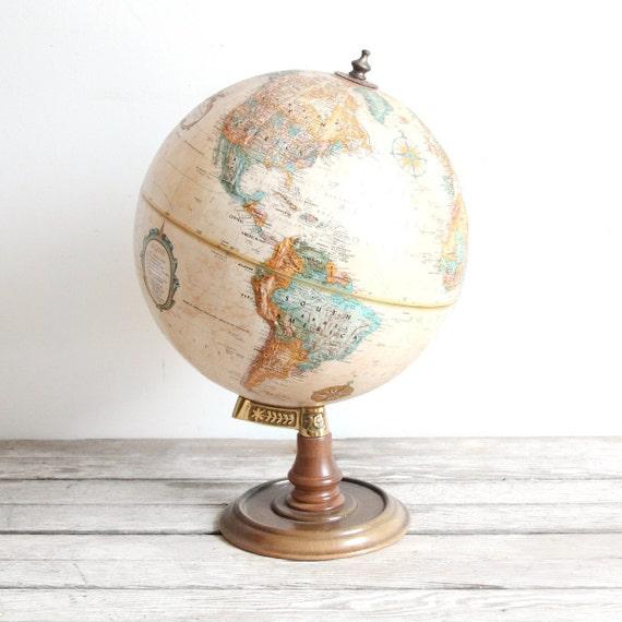 vintage replogle world classic series globe