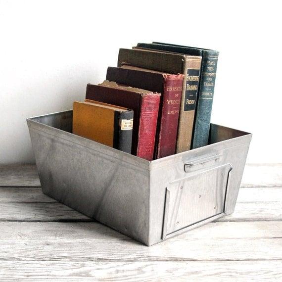 vintage industrial storage bins - reserved for jenneyg
