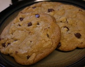 12 Giant Chewy Chocolate Chip Cookies