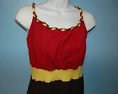 Braided Straps Go Seminoles Women's Dress Sizes XS to L