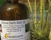 Bath Oil, Sensual, Grounding, Relaxing Patchouli and Lavender, Aromabath, Aromatherapy