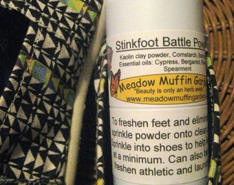 Foot Odor Stinkfoot Battle Powder, Stinky Feet