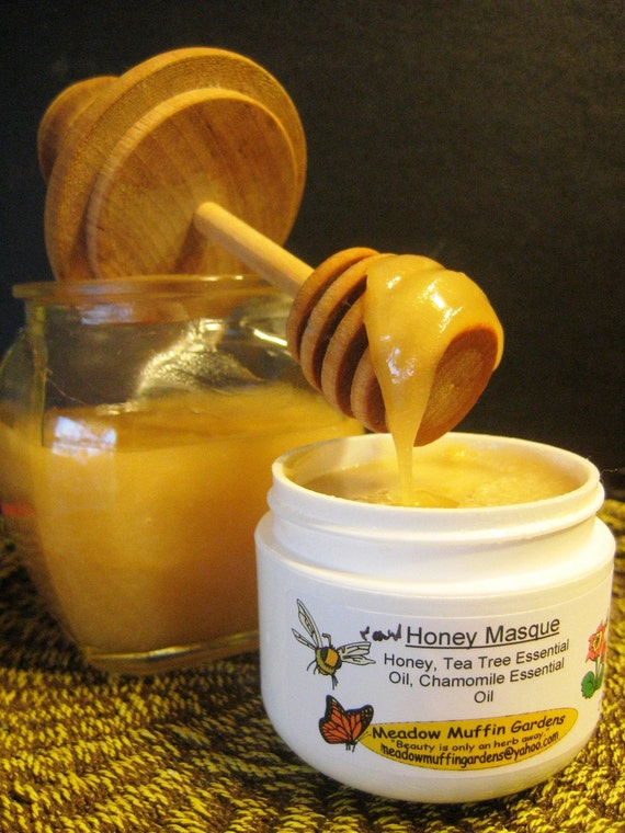 Blemish Care, Organic Raw Honey Facial Mask, Face Masque, Wound care, Troubled skin, Blackheads
