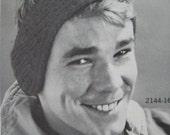 1960's Vintage Knitting PDF Pattern Earwarmers 2144-165