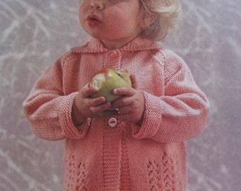 Vintage Knit PDF Pattern Toddler Sweater 6177