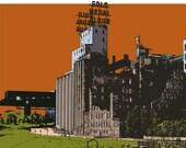 Mill City Ruins Minnesota Print