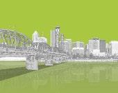 Portland is Green City Print