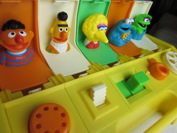 Vintage Sesame Street Playskool Poppin Pals